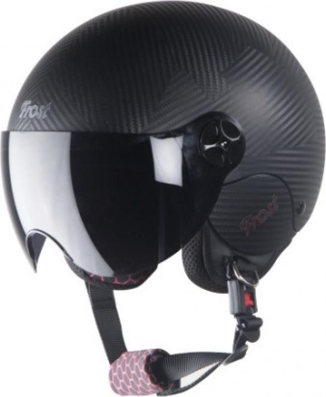 Steelbird Hi-Gn SBH-16 Frost Dashing Motorsports Helmet(Black)