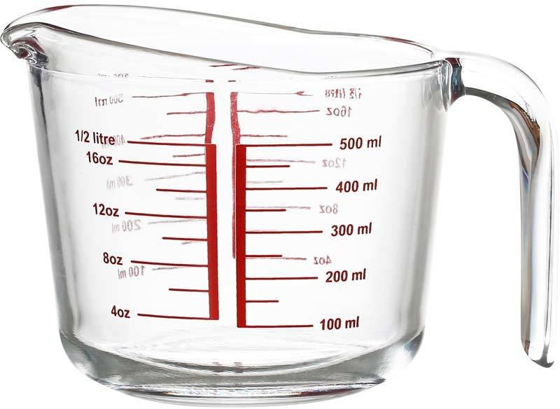 Incrizma 7298 Measuring Cup(500 ml)