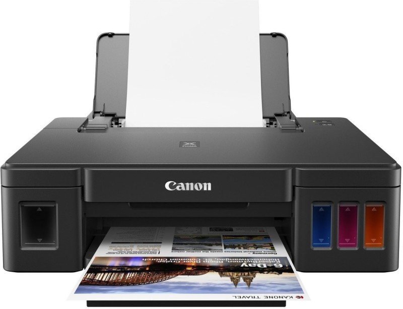 Canon Pixma G1010 Single Function Inkjet Printer Single Function Printer(Black)