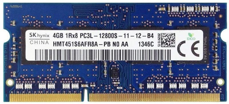 Hynix Low Voltage Ram 1.35 Volt DDR3 4 GB (Single Channel) Laptop 1Rx8 (HMT451S6AFR8A)