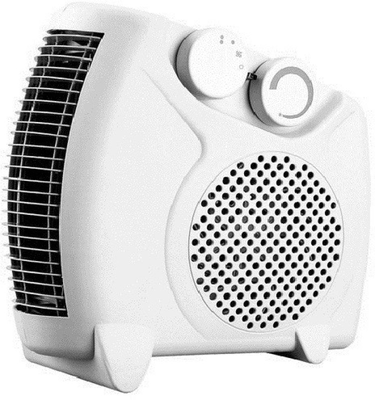 amikan Fan Heater Heat || Silent Fan Room Heater (White) || with 1 Season Warranty || M-05 Fan Room Heater