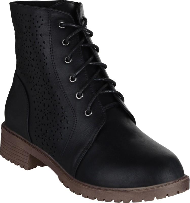 Shuz Touch Boots For Men(Black)