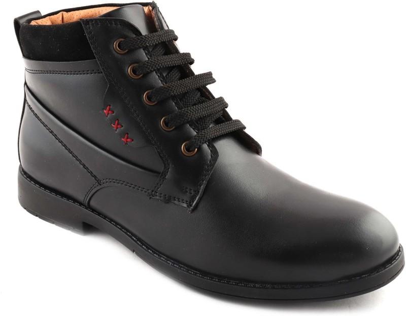 San Frissco Boots For Men(Black)