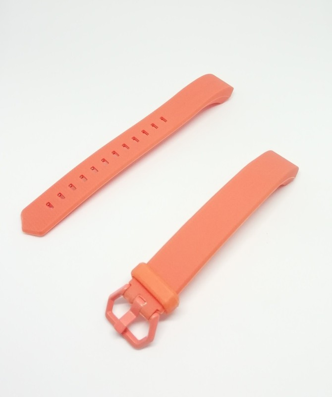 ILOFT Replacement strap for Boltt Beat Heart Rate(HR) Activity Tracker Smart Band Strap(Orange)