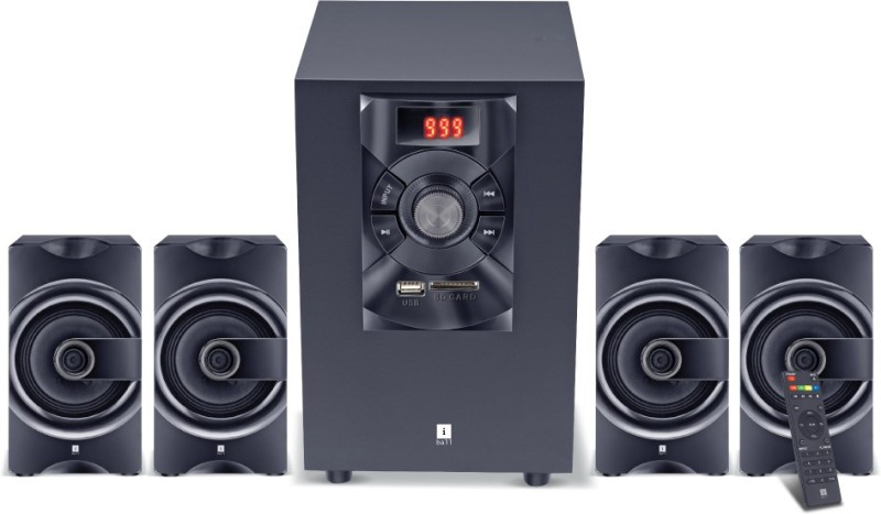 iball SoundKing i3 4.1 35 Bluetooth Home Audio Speaker(Black, 4.1 Channel)