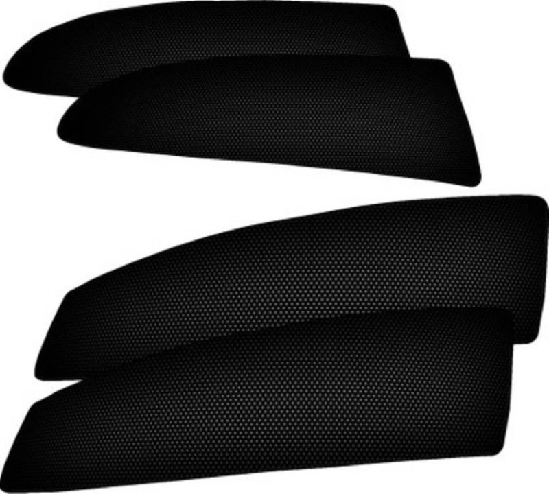 A K Traders Side Window Sun Shade For Volkswagen Vento(Black)