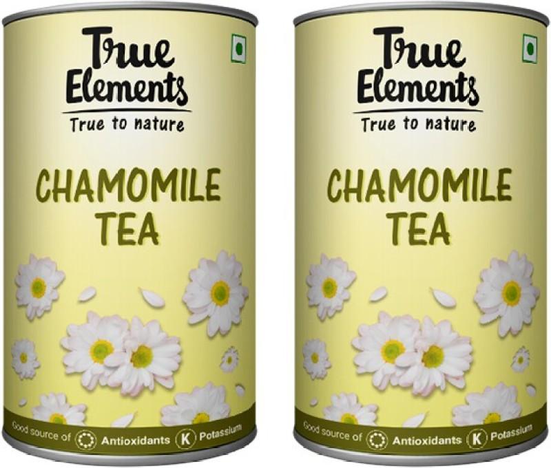 True Elements Chamomile Tea 200g (100g x 2) Chamomile Green Tea(200 g, Drum)