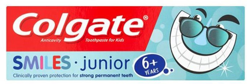 Colgate Smiles Junior Toothpaste (6Y+) - 50ml Toothpaste(50 g)