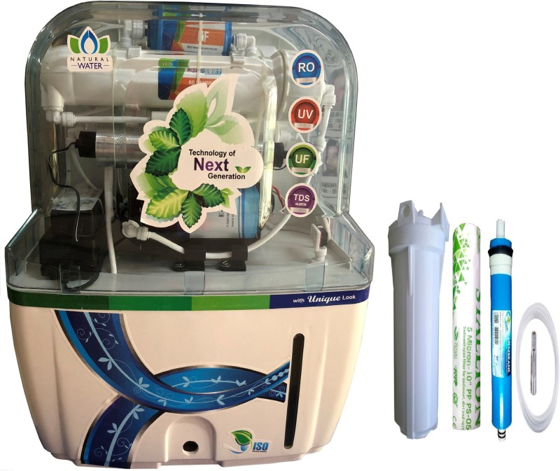 Aqua Swift fresh Model 15 L RO + UV + UF + TDS Water Purifier(White)