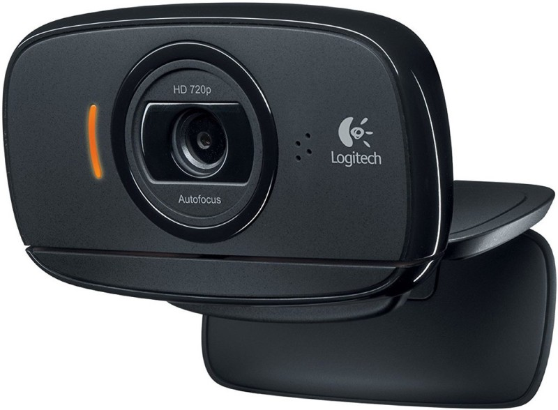 Logitech HD Webcam C525, Portable HD 720p Video Calling with Autofocus Webcam(Black)