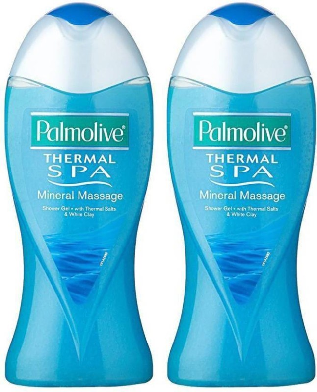Palmolive Thermal Spa Mineral Massage Shower Gel, 250ml (Pack of 2)(250 ml, Pack of 2)