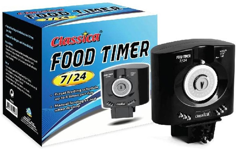 ocean free Classica Food Timer 7/24 Automatic and Manual Fish Feeder(100 ml)
