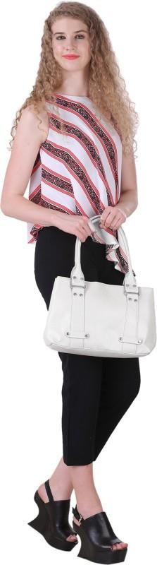 Lady bar Women White Hand-held Bag