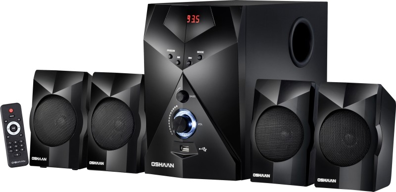Oshaan S17 4.1 BT 4.1 Home Cinema(Multimedia Home Theatre System)
