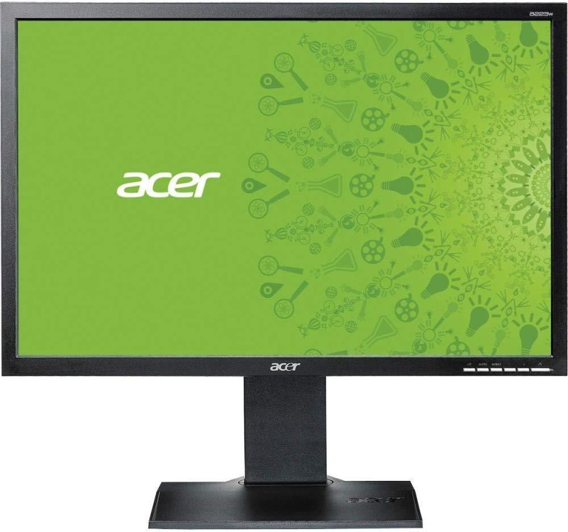 Acer 22 inch HD LED Backlit Monitor (V223WL AJObmd)(VGA, Inbuilt Speaker)