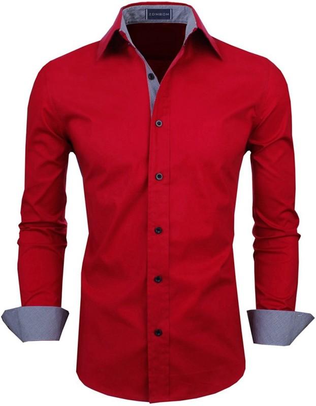 1e27902383ec9b Zombom Men Shirts Price List in India 28 April 2019