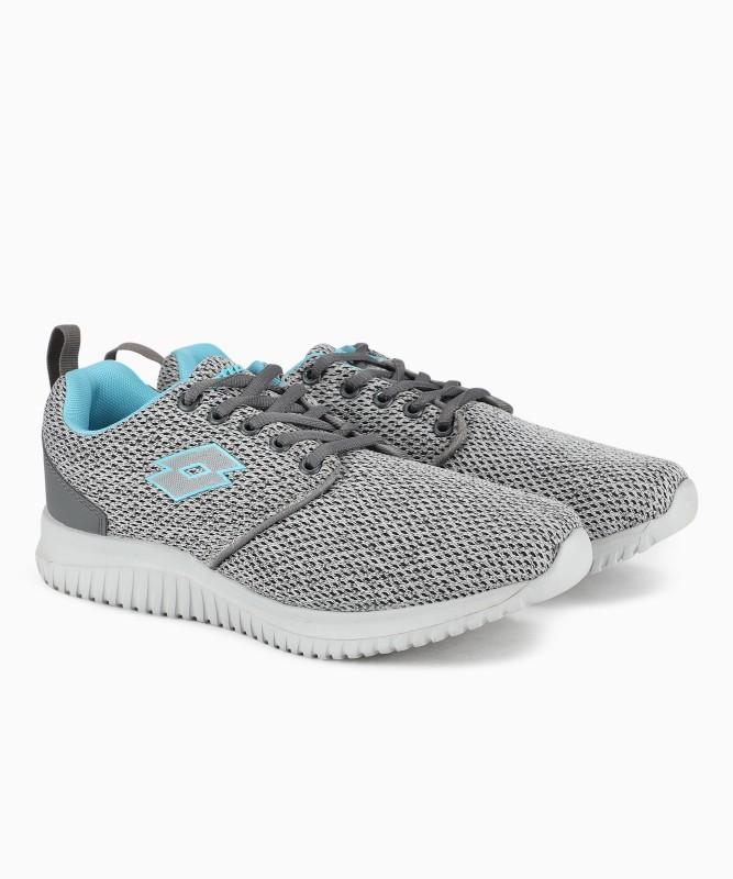 Lotto ALYSSA Running Shoes For Women(Grey)