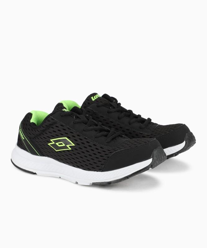 Lotto WACO Running Shoes For Women(Black)