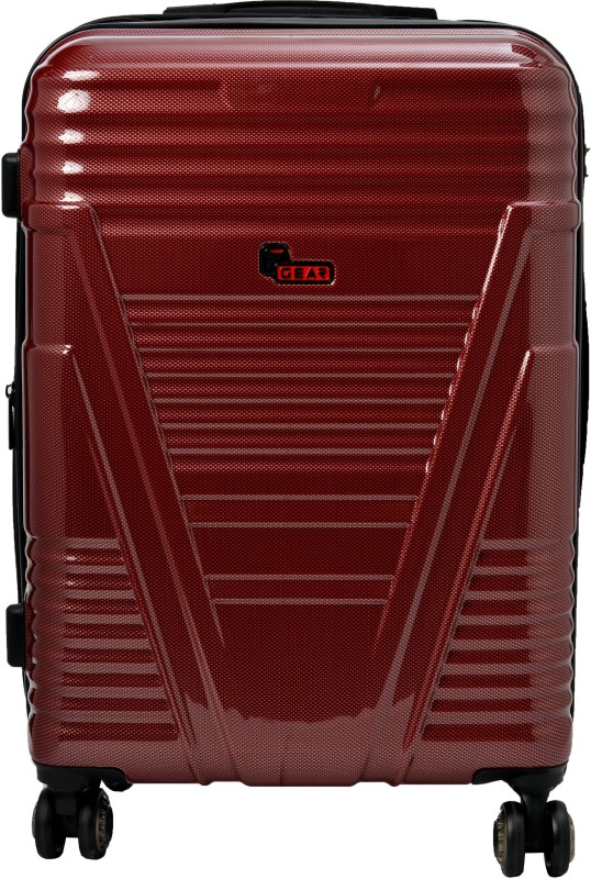 F Gear Valkyrie Polycarbonate 73 (cm) Expandable Check-in Luggage - 28 inch(Maroon)
