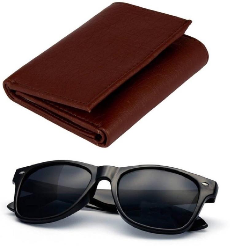 FERRET Wallet, Wayfarer Combo(Black, Brown)