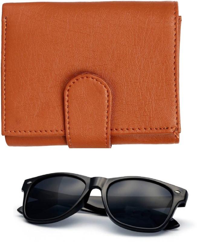 FERRET Wallet, Wayfarer Combo(Tan, Black)