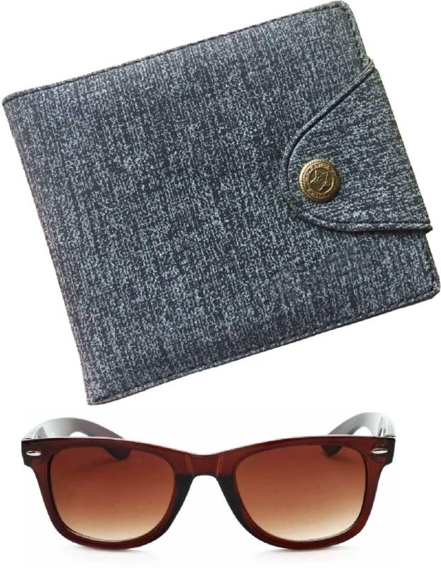 FERRET Wallet, Wayfarer Combo(Brown, Blue)