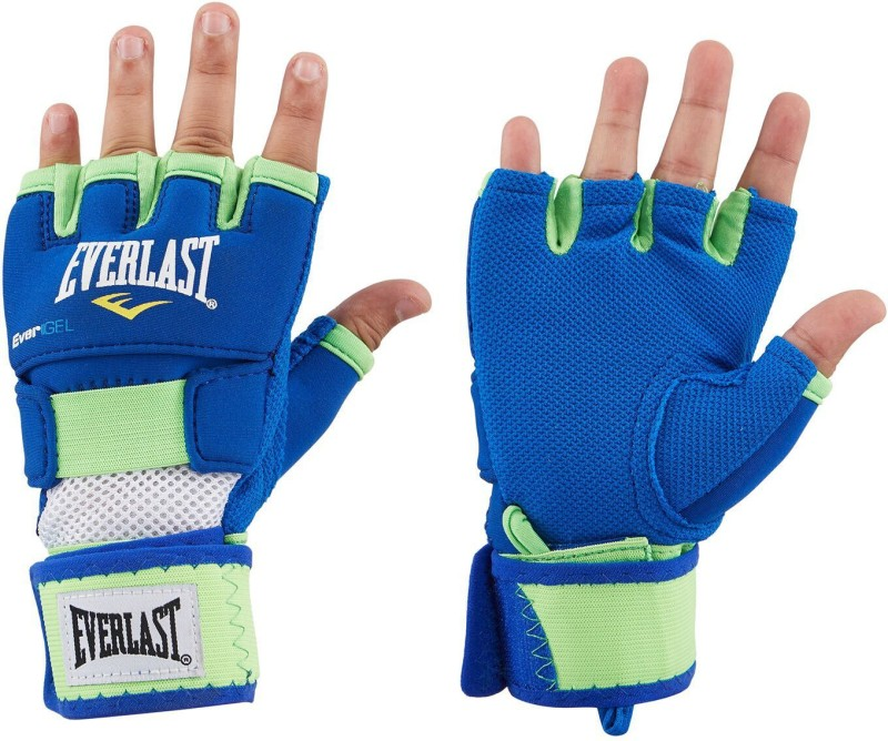 Everlast Evergel Hand Wrap-M Blue, Green Boxing Hand Wrap(Blue, Green, 10 inch)