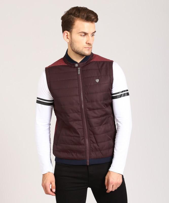 Arrow Sport Sleeveless Solid Men Jacket