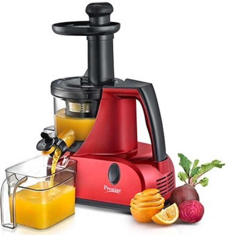 Prestige 41115 200 W Juicer(Red Black, 1 Jar)