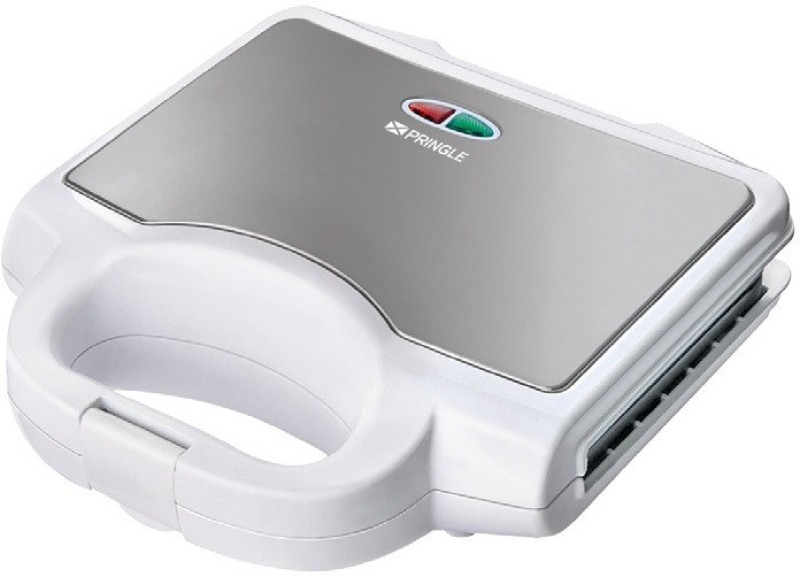PRINGLE Grill/Sandwich Maker GM 708/SM 708 Grill(White, Silver)