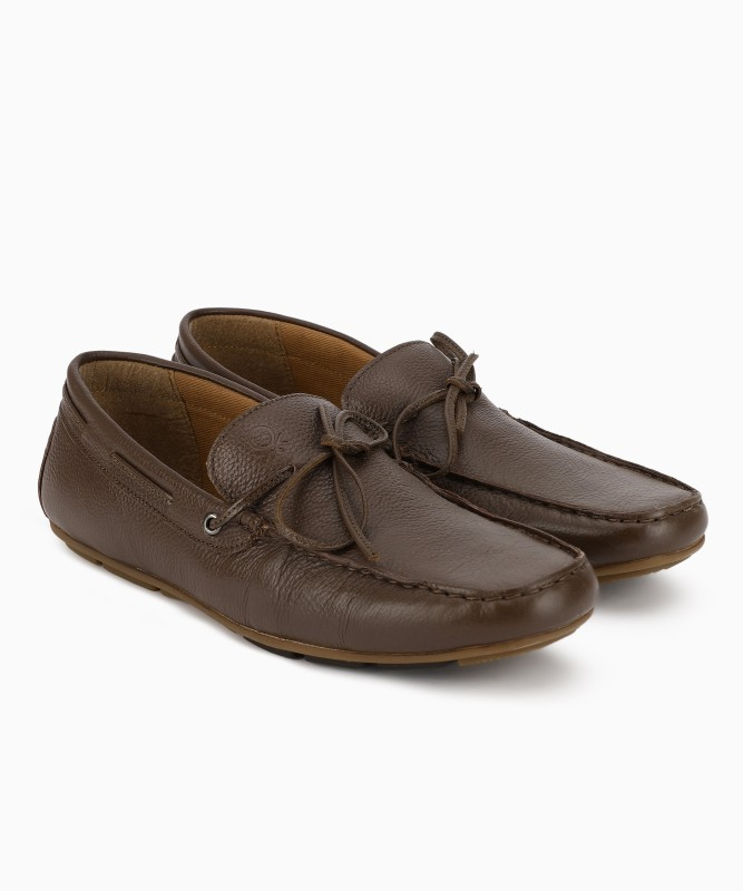 United Colors of Benetton Loafers For Men(Brown)