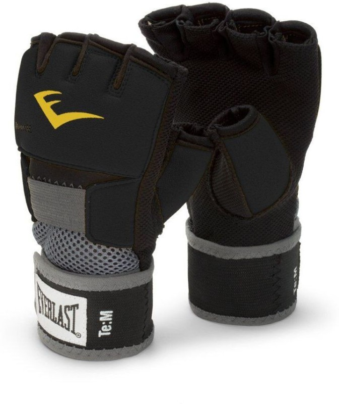Everlast 4355BL Black Boxing Hand Wrap(Black, 10 inch)