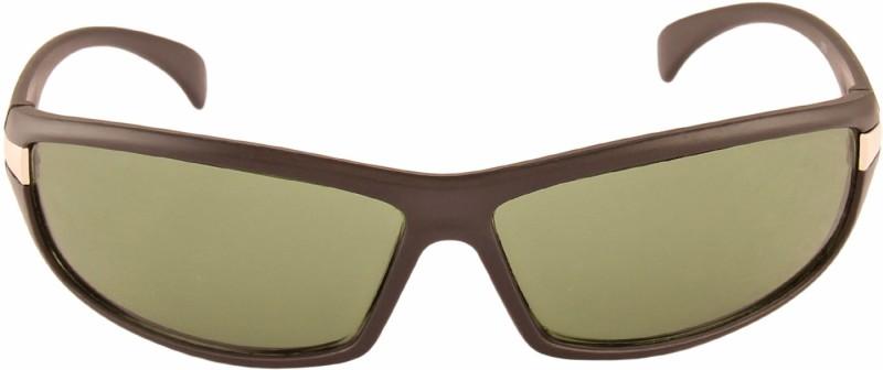 Adine Round Sunglasses(Green) image