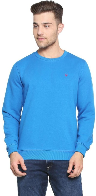 Allen Solly Full Sleeve Self Design Men Sweatshirt