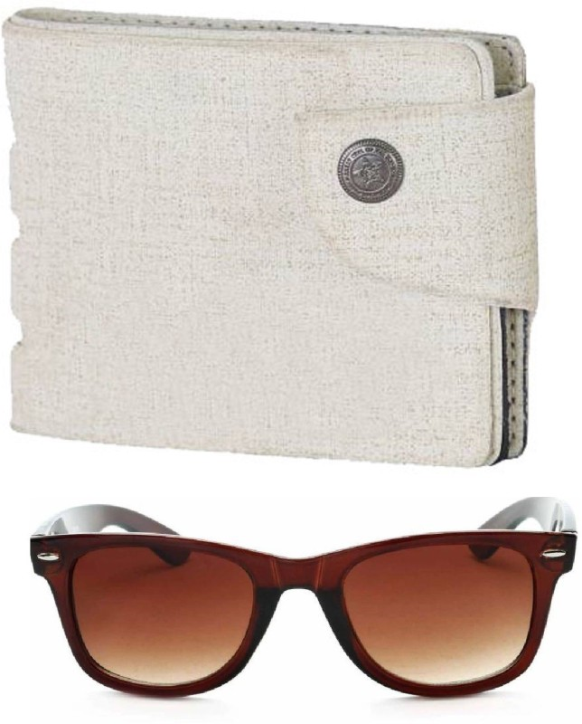 FERRET Wallet, Wayfarer Combo(Brown, White)