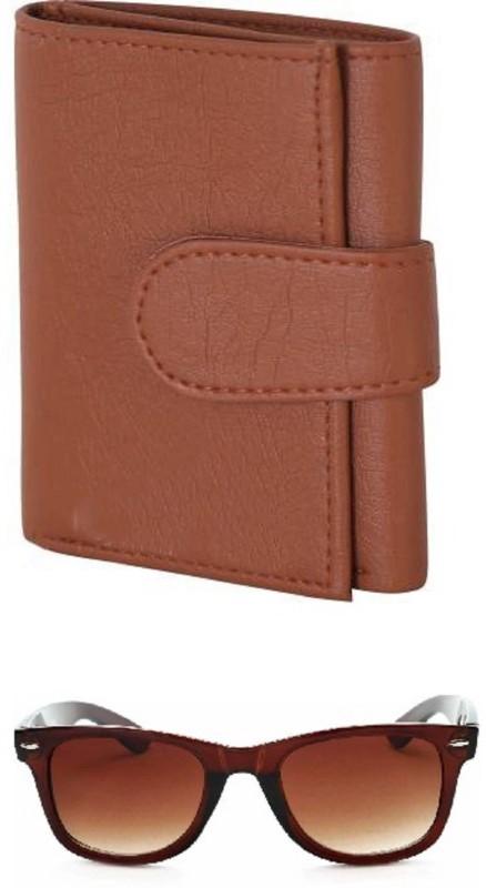 Peacock Mundkar Wallet, Wayfarer Combo(Tan, Brown)