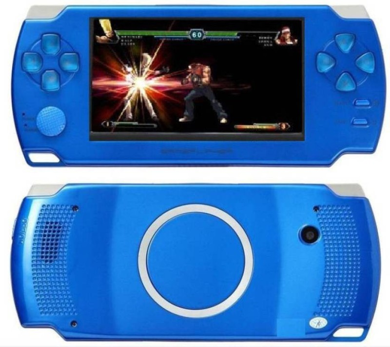 EssQue SQ GAMING COLSOLE BLUE 4 Handheld Gaming Console(BLUE)