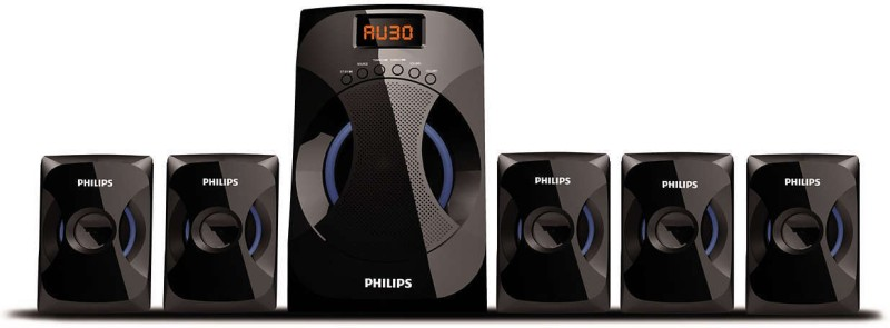 Philips SPA4040B 5.1 Home Cinema(ALL COMPAITABLE PLAYERS(DVD,VCD ETC))