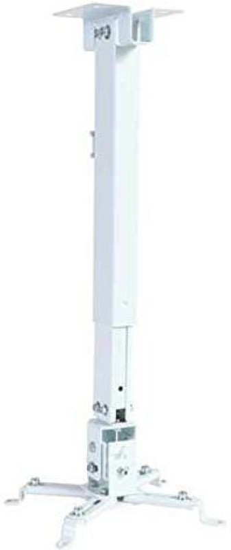 UltimaCords&Cables Ultima Heavy Duty (Weight Capacity - 15 Kgs) 2Ft Universal Projector Ceiling Mount Bracket In White Projector Stand(Maximum Load Capacity 12 kg)