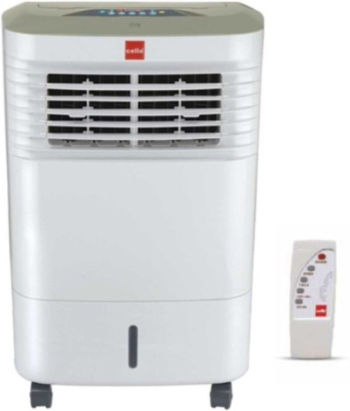 Cello TRENDY 30 PLUS Room Air Cooler(White, 30 Litres)