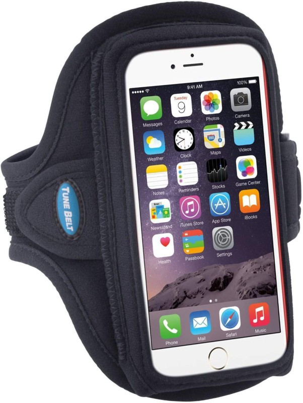 CALLIE Arm Band Case for unisex(black, Flexible Case)