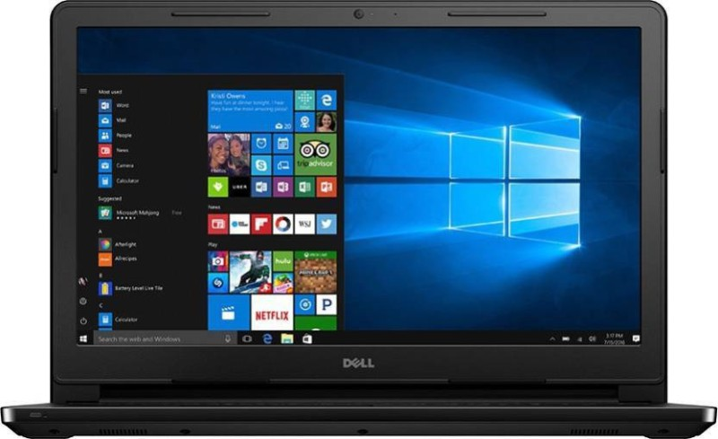 Dell Inspiron 15 3000 Pentium Quad Core - (4 GB/500 GB HDD/Windows 10 Home) 3573 Laptop(15.6 inch, Black)