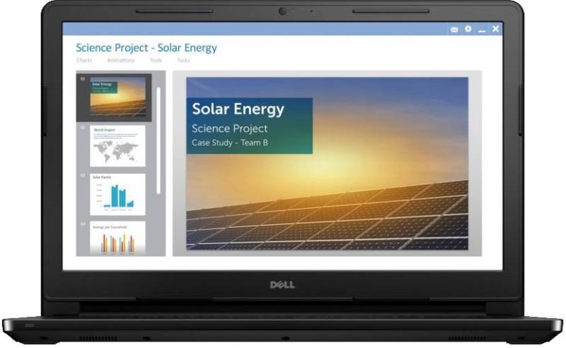 Dell Inspiron 15 3000 Pentium Quad Core - (4 GB/500 GB HDD/Ubuntu) 3573 Laptop(15.6 inch, Black, 2.1 kg)