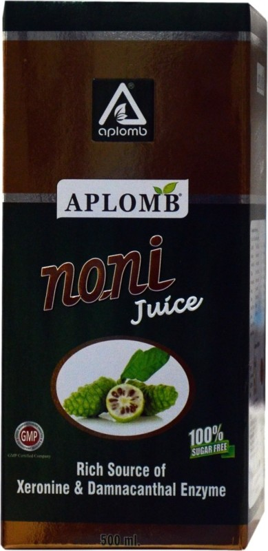 Aplomb Noni Juice Rich Source of Xeronine & Damnacanthal Enzyme 500 ml