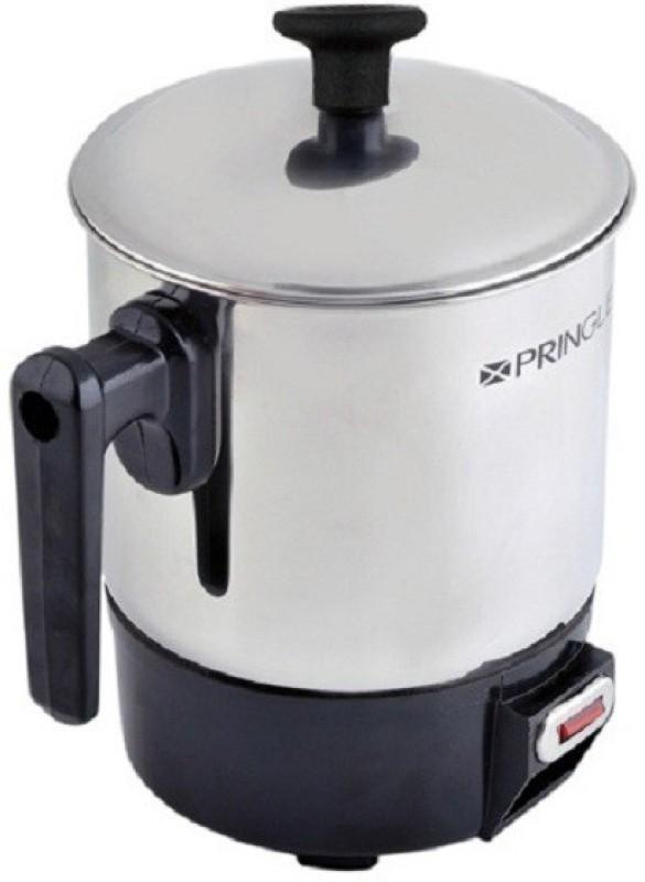 PRINGLE Heating Mug HM 1201/Electric mug/Mini Kettle Mug for Travel/Mini Thermo Mug/Stainless Steel Leak Proof Mug Electric Kettle(1 L, Black, Silver)