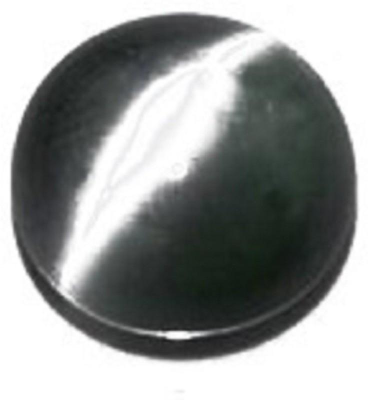 Krishna Gems Black Cut Natural Cats Eye Gemstone(4.75 carat)