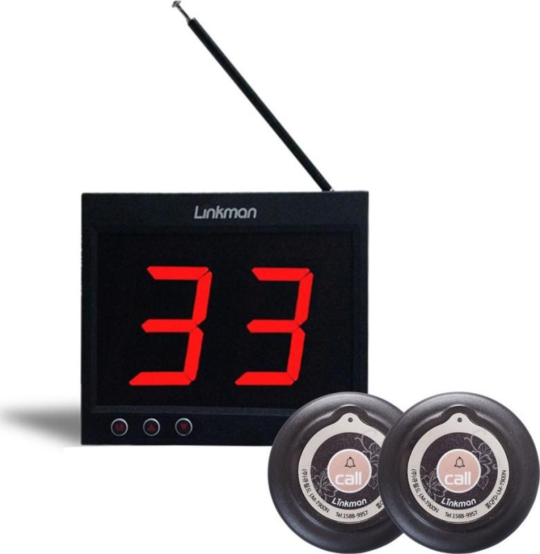 U-LINK LM-D102U Plastic Desk Bell(Black)