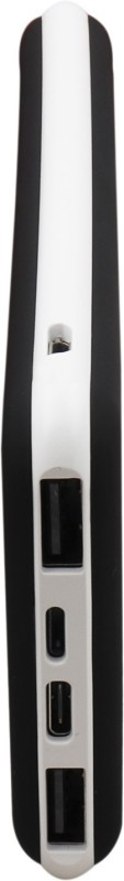 Syska 10000 Power Bank (100, Power Plus)(Black White, Lithium Polymer)