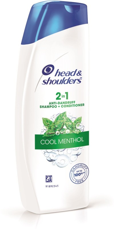 Head & Shoulders Cool Menthol 2-in-1 Shampoo Plus Conditioner(180 ml)