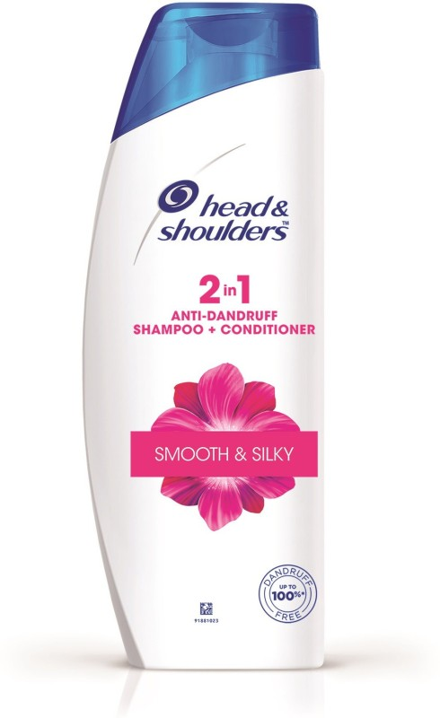 Head & Shoulders Smooth and Silky 2-in-1 Shampoo Plus Conditioner(180 ml)